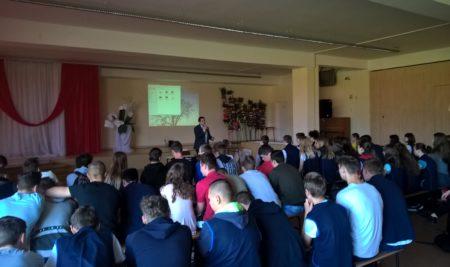 Spotkania z uczniami
