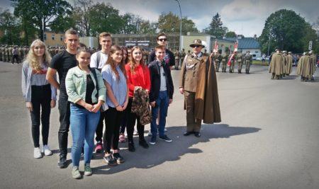 Uczniowie I LO w Nisku.