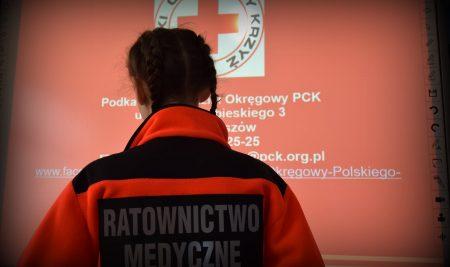Odwiedziny przedstawiciela Podkarpackiego Oddziału Okręgowego PCK w Rzeszowie