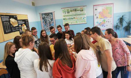 Wczorajsze zajęcia z @CSP Team w naszej szkole