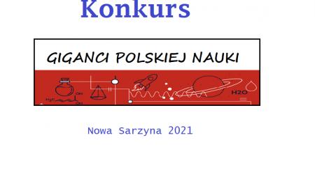 """""""Giganci polskiej nauki"""" – rozstrzygnięcie konkursu"""