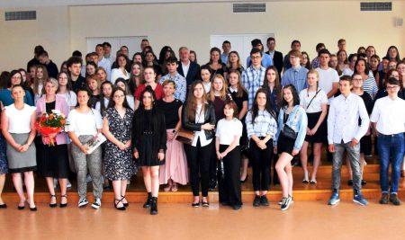 Zakończenie roku szkolnego organizowane przez Samorząd Uczniowski