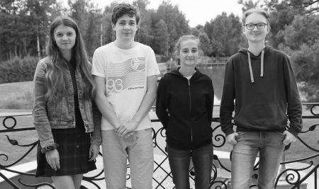 Uczniowie w Lipowym Moście na Podlasiu w ramach projektu Akademii Witolda Pileckiego